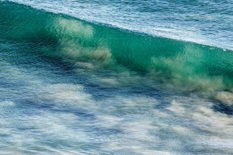 Ozeangrünblau